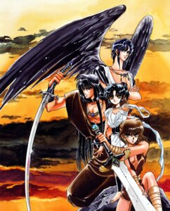 Rating: Safe Score: 2 Tags: ashura clamp kujaku rgveda ryuu-ou yasha-ou User: Share