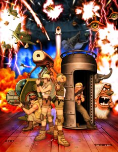 Rating: Safe Score: 4 Tags: fio_germi kasamoto_eri marco_rossi metal_slug shinkirou snk tarma_roving User: Radioactive