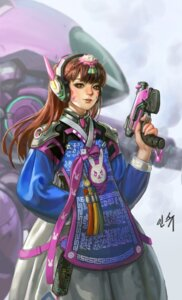 Rating: Safe Score: 13 Tags: asian_clothes d.va gun headphones overwatch shaonav User: Noodoll