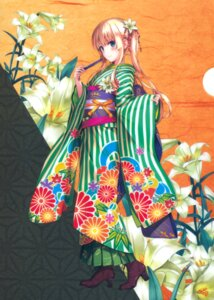 Rating: Safe Score: 205 Tags: heels kimono misaki_kurehito saenai_heroine_no_sodatekata sawamura_spencer_eriri User: Twinsenzw