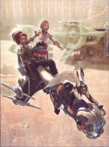 Rating: Safe Score: 8 Tags: ashelia_b'nargin_dalmasca balthier final_fantasy final_fantasy_xii fran User: majoria