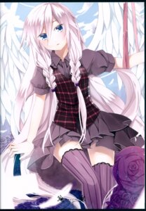 Rating: Safe Score: 16 Tags: dress ia_(vocaloid) pineapple thighhighs vocaloid wings User: WhiteExecutor