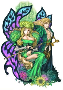 Rating: Safe Score: 12 Tags: cleavage dress elf george_kamitani odin_sphere pointy_ears shigatake User: Radioactive