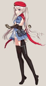 Rating: Questionable Score: 23 Tags: 9a-91_(girls_frontline) garter girls_frontline pantsu rabochicken see_through string_panties thighhighs weapon User: Nepcoheart