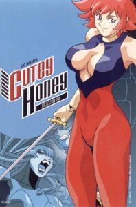 Rating: Safe Score: 7 Tags: bodysuit cleavage cutie_honey nagai_gou no_bra sword User: Radioactive