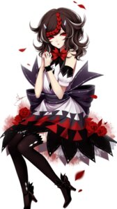Rating: Safe Score: 21 Tags: heels horns kijin_seija sheya thighhighs touhou User: Mr_GT