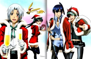 Rating: Safe Score: 3 Tags: allen_walker binding_discoloration christmas crease d.gray-man kanda_yu lavi lenalee_lee timcanpy User: ChikiChii