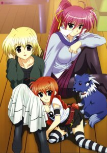 Rating: Safe Score: 10 Tags: gothic_lolita lolita_fashion mahou_shoujo_lyrical_nanoha mahou_shoujo_lyrical_nanoha_a's okuda_yasuhiro pantyhose shamal signum thighhighs vita zafira User: Radioactive