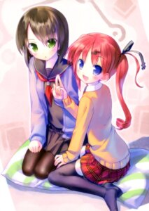 Rating: Safe Score: 59 Tags: nonomiya_ai pantyhose seifuku shunki_gentei_poco_a_poco takoyaki thighhighs User: Twinsenzw