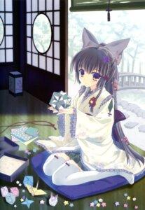 Rating: Safe Score: 65 Tags: kimono nanao_naru thighhighs User: wlx533633733