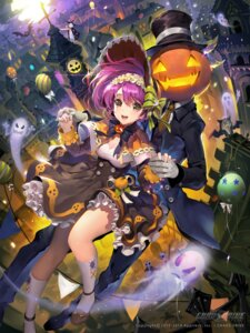 Rating: Safe Score: 55 Tags: chaos_drive cleavage dress halloween heels tobsua User: Mr_GT