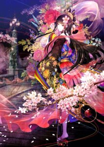 Rating: Safe Score: 56 Tags: fuzichoko kimono see_through User: saemonnokami
