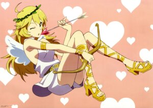 Rating: Safe Score: 36 Tags: angel heels hoshii_miki the_idolm@ster uemura_jun wings User: blooregardo
