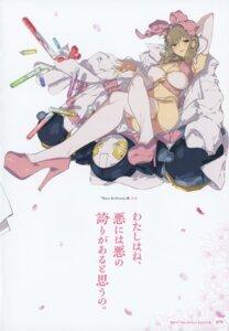 Rating: Questionable Score: 21 Tags: cleavage haruka_(senran_kagura) heels senran_kagura thighhighs yaegashi_nan User: kiyoe