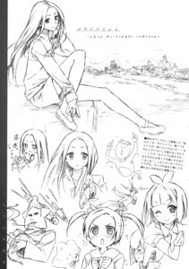 Rating: Safe Score: 8 Tags: 5_nenme_no_houkago arakawa_under_the_bridge kantoku monochrome nino_(arakawa) User: Kalafina