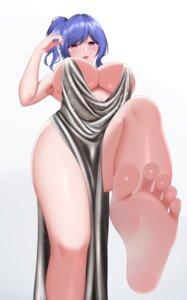 Rating: Questionable Score: 37 Tags: azur_lane dress feet kokubyaku_no_tsubasa no_bra skirt_lift st._louis_(azur_lane) User: yanis