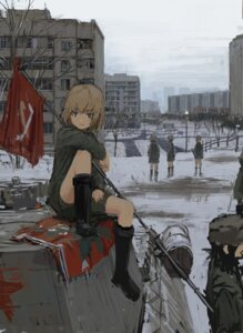 Rating: Safe Score: 45 Tags: annda_k girls_und_panzer katyusha uniform User: Genex