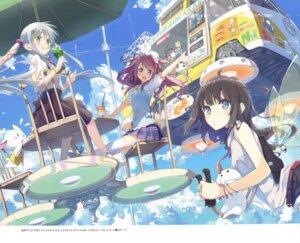 Rating: Safe Score: 39 Tags: crossover eretto kantoku kurumi_(kantoku) mizoguchi_keiji neko tagme thighhighs User: Twinsenzw