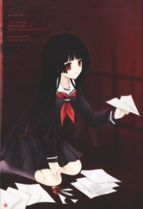 Rating: Safe Score: 10 Tags: enma_ai jigoku_shoujo ririka seifuku User: Radioactive