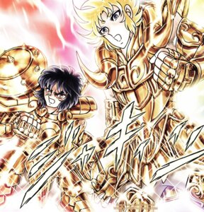 Rating: Safe Score: 2 Tags: aries_shion armor horns kurumada_masami libra_douko male saint_seiya screening signed User: kyoushiro