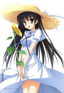 Rating: Safe Score: 36 Tags: dress kobuichi kousaka_chihaya natsuzora_kanata summer_dress yuzu-soft User: Twinsenzw