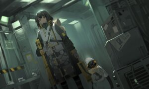 Rating: Safe Score: 25 Tags: arknights magallan_(arknights) penguin zheshe_jing User: Dreista