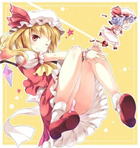 Rating: Questionable Score: 43 Tags: flandre_scarlet hinooka_shuuji pantsu touhou User: fairyren