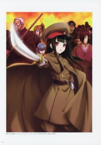 Rating: Questionable Score: 4 Tags: japanese_clothes kaigen_seito megane nitroplus oosaki_shinya sword uniform User: Radioactive