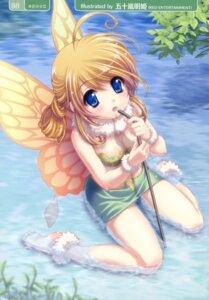 Rating: Safe Score: 42 Tags: cleavage fairy igarashi_aki wet wings User: petopeto