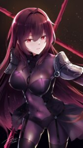 Rating: Safe Score: 12 Tags: armor bodysuit fate/grand_order kuroi_asahi scathach_(fate/grand_order) stockings thighhighs weapon User: Mr_GT