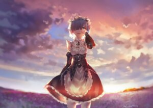 Rating: Safe Score: 69 Tags: avamone maid re_zero_kara_hajimeru_isekai_seikatsu rem_(re_zero) User: Mr_GT
