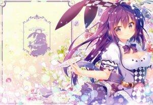 Rating: Safe Score: 40 Tags: animal_ears bunny_ears cleavage dress gochuumon_wa_usagi_desu_ka? mitsumomo_mamu tedeza_rize User: kiyoe
