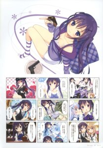 Rating: Safe Score: 43 Tags: gochuumon_wa_usagi_desu_ka? koi tedeza_rize User: fireattack