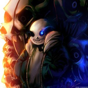 Rating: Safe Score: 8 Tags: male ozumii sans signed undertale User: charunetra
