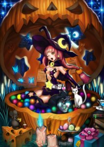 Rating: Safe Score: 21 Tags: cleavage neko silvester thighhighs witch User: eridani