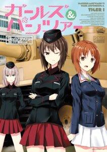 Rating: Safe Score: 9 Tags: girls_und_panzer itsumi_erika nishizumi_maho nishizumi_miho tagme uniform User: saemonnokami