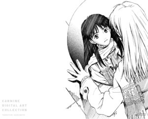 Rating: Safe Score: 8 Tags: flcl monochrome ninamori_eri sadamoto_yoshiyuki wallpaper User: Radioactive