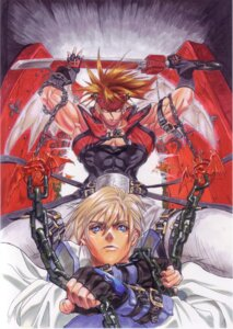 Rating: Safe Score: 3 Tags: guilty_gear ky_kiske male sol_badguy User: Radioactive