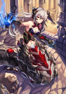 Rating: Safe Score: 51 Tags: armor cleavage haik horns monster_girl User: Mr_GT