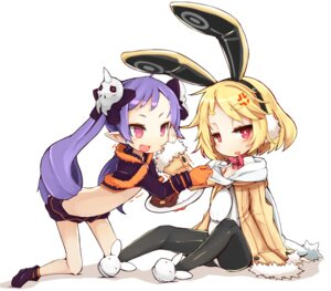 Rating: Safe Score: 49 Tags: animal_ears bunny_ears chibi sushi User: blooregardo
