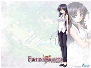Rating: Safe Score: 12 Tags: bekkankou fortune_arterial kuze_kiriha wallpaper User: admin2
