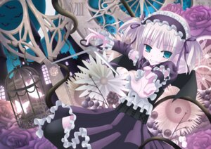 Rating: Safe Score: 12 Tags: gothic_lolita lolita_fashion thighhighs ts_mix User: Manabi