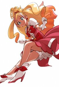 Rating: Safe Score: 15 Tags: bloomers dress go!_princess_pretty_cure haruno_haruka heels horikoshi_kouhei pretty_cure User: Bozumi