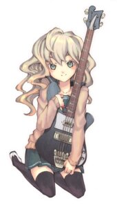 Rating: Safe Score: 16 Tags: guitar seifuku taguchi_shouichi thighhighs User: charunetra
