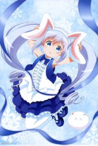 Rating: Safe Score: 59 Tags: animal_ears bunny_ears dress gochuumon_wa_usagi_desu_ka? kafuu_chino shikibu_miyoko tippy_(gochuumon_wa_usagi_desu_ka?) User: drop