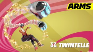 Rating: Questionable Score: 5 Tags: arms heels nintendo twintelle_(arms) wallpaper weapon User: fly24
