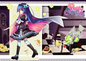 Rating: Safe Score: 55 Tags: ane_niku chuck dress gothic_lolita honekoneko lolita_fashion panty_&_stocking_with_garterbelt stocking thighhighs User: Riven