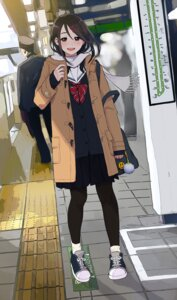 Rating: Safe Score: 63 Tags: morichika pantyhose seifuku sweater User: nphuongsun93