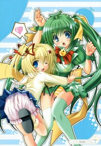 Rating: Safe Score: 10 Tags: lemon-chan melon-chan melonbooks noritama_(gozen) pantsu shimapan thighhighs User: syaoran-kun