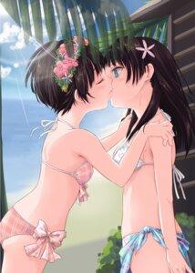 Rating: Questionable Score: 113 Tags: bikini hpflower saten_ruiko swimsuits to_aru_kagaku_no_railgun to_aru_majutsu_no_index uiharu_kazari yuri User: Radioactive